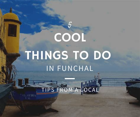 cool things in 2016 5 cool things to do when you visit funchal from madeira