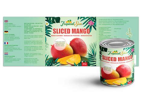 logo label design  mango  nv graphic design