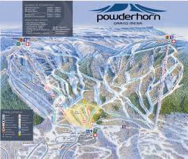 map of ski resorts colorado powderhorn mountain resort colorado ski areas