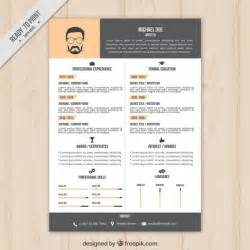 Cv Design Templates by Moderne Lebenslauf Download Der Kostenlosen Vektor