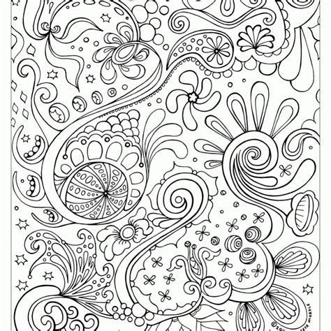 free printable abstract coloring pages for adult image 48