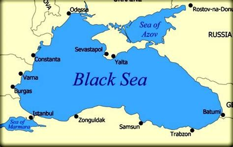 where were the ottomans located this is the black sea here was located the warm water