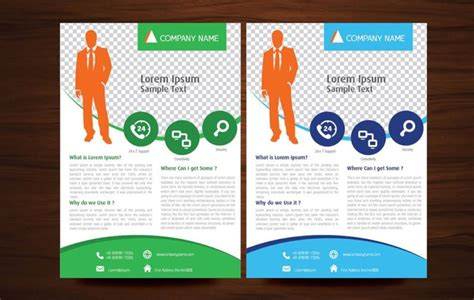 sle business brochure business flyer template best