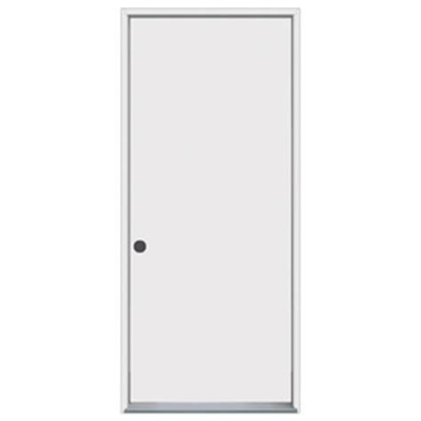 Flush Entry Door by Shop Prosteel Flush Prehung Inswing Steel Entry Door