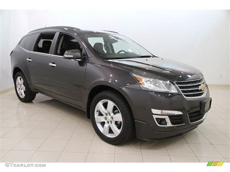 what color is tungsten metallic 2016 tungsten metallic chevrolet traverse lt awd