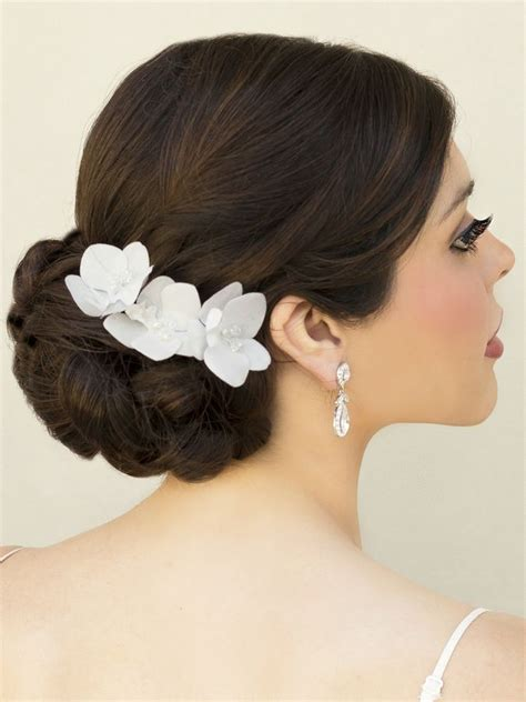 Wedding Hair With Orchids by 9 Best Orchid Bouquets And Orchid For Hair Images On