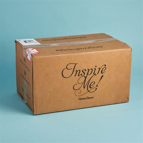 inspire me home decor subscription box review november