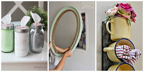 31 Brilliant Diy Decor Ideas For Your Bathroom Joy Cool Do Diy Bathroom Accessories