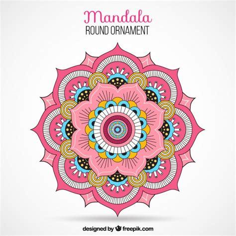 imagenes de mandalas morados mandala de color descargar vectores gratis