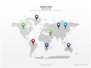 World Map Template For Powerpoint by China Map Powerpoint Free Significancedeer