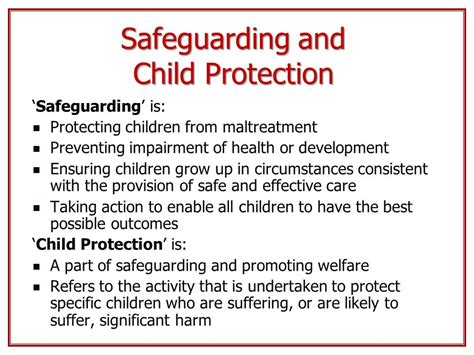 section 17 child protection safeguarding children in education ppt video online download