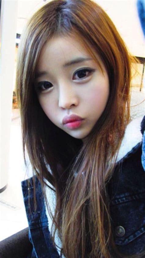 cute aegyo hairstyles ulzzang girl small lips large eyes ulzzang look