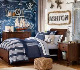 Green And Brown Duvet Cover Nautical Decorating Ideas For Kids Rooms From Pottery Barn