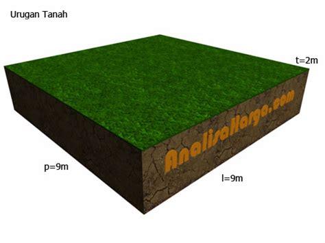 Rumus Jual Beli Tanah perhitungan volume kebutuhan urugan tanah analisa harga satuan
