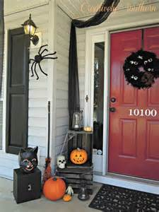 Halloween Decorations For Front Porch Halloween Porch Decorating