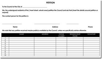 signature petition template signature petition template 30 free petition templates