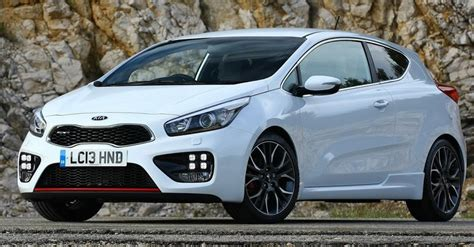 Kia Uk Models Kia To Launch An Array Of Sporty Models With Gt Badge