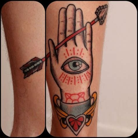x tattoo eye eye of providence in hand tattoo by karen glass arrow