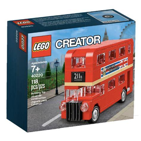 Lego Creator 40220 lego creator dubbeldekker lego 40220 5702015595407