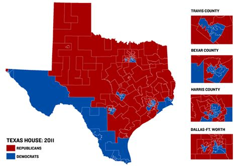 political texas map texas house map reflects gop wave the texas tribune