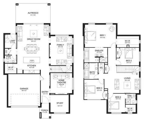 house designs and floor plans nsw best 10 double storey house plans ideas on pinterest