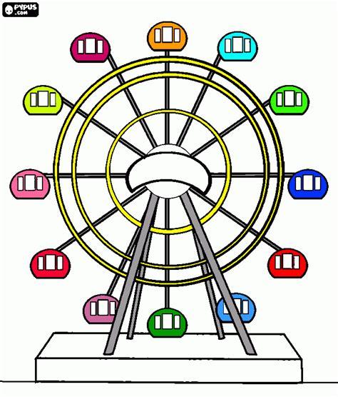 imagenes para colorear rueda rueda de la for para colorear rueda de la for para imprimir