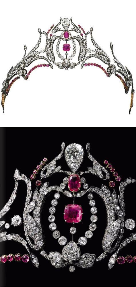 Du Tiara les 119 meilleures images du tableau adornment tiara garnets rubies sur bijoux