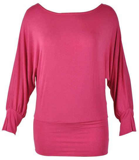 Top Bega Longsleeves Batwing new batwing shoulder sleeve womens top