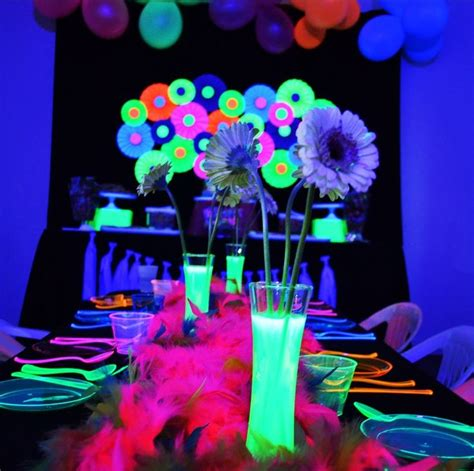 glow in the centerpieces ideas 25 best centerpieces ideas on