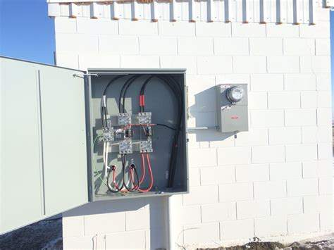 service ct kolu christian family radio 187 400a electrical service is installed