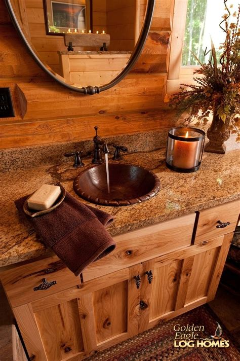 log cabin with bathroom and kitchen 25 best ideas about log cabin bathrooms on pinterest