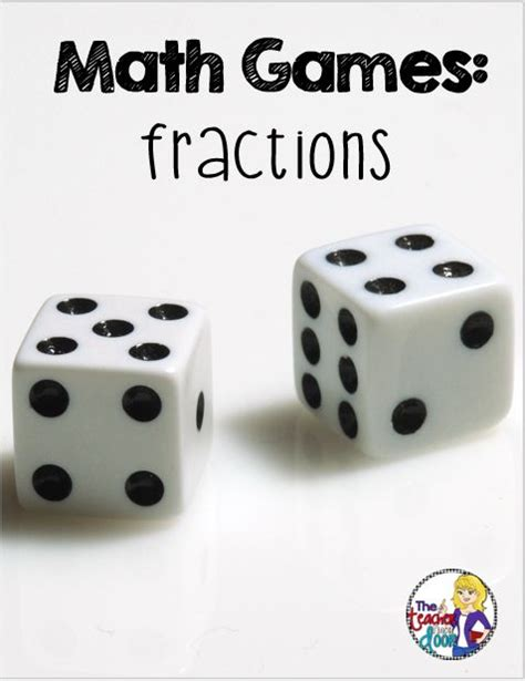 printable fraction dice fun post about how to use dice to play free math games for