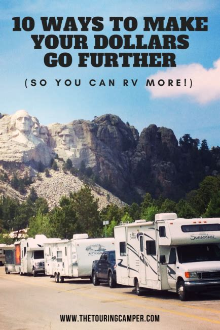 10 Ways To Make A Go You 10 ways to make your dollars go further so you can rv