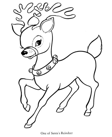 coloring pages of santa s 9 reindeer santa and reindeer coloring pages free printable