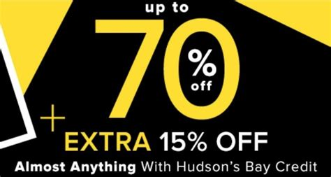Hudson S Bay Canada Offers Save Up To 50 Select - hudson s bay canada deals save up to 70 15
