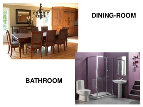 Dining Room Vocab In The House Vocabulary
