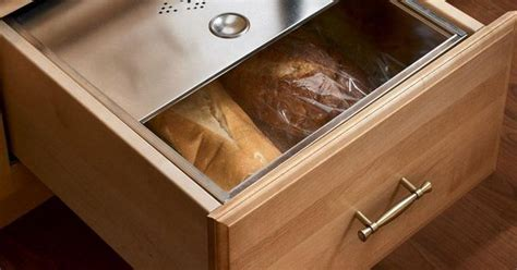 kitchen drawer boxes replacement base bread box drawer kitchens classically traditional