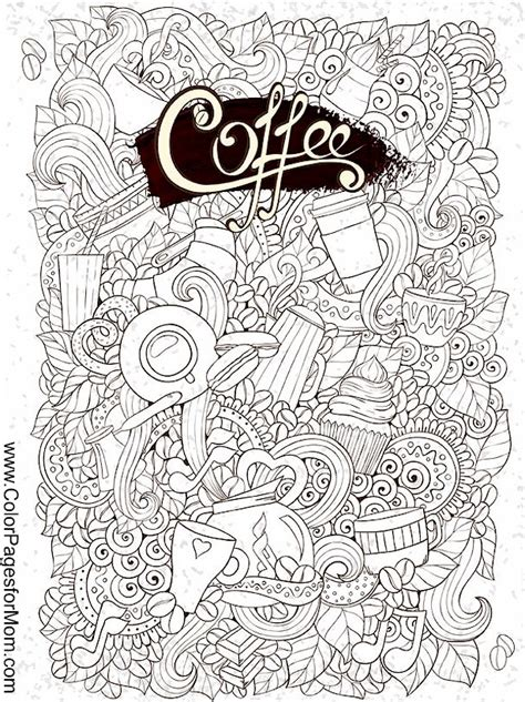 coloring pages for adults coffee coloring pages for adults coffee coloring page 29
