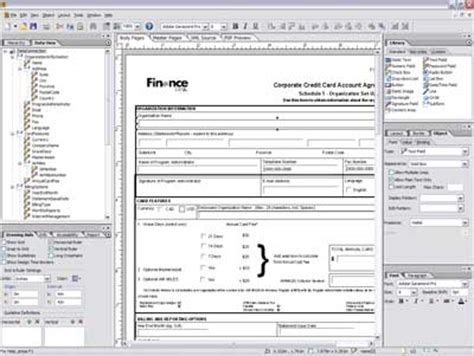 forms design software service oriented enterprise adobe launches beta of xml pdf form design software