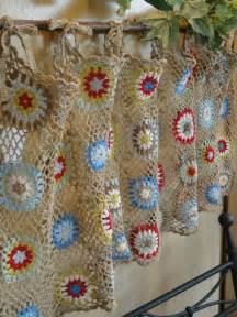 Free Kitchen Curtain Patterns Best 25 Crochet Curtains Ideas On Cortinas Crochet Crochet Stitches Chart And