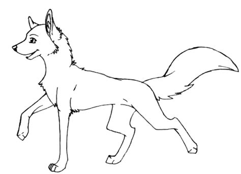 wolf template by wolfshadow10 on deviantart