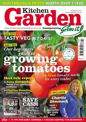 garten magazin kitchen garden magazine february 2014 issue get your