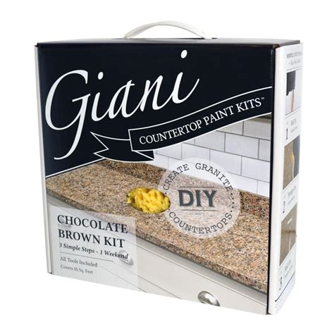 shop giani countertop transformations chocolate brown high