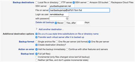 setup ubuntu server ssh setup ssh backup on ubuntu with virtualmin bjdejong blog