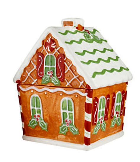 gingerbread house j thaddeus ozark s cookie jars and other larks gingerbread house cookie jar