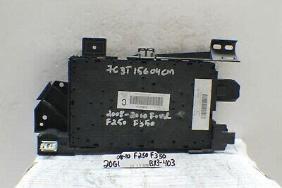 ford  multifunction control fuse box rely