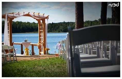 wedding venues forest lake mn wedded bliss jon megan osage okoboji clear lake