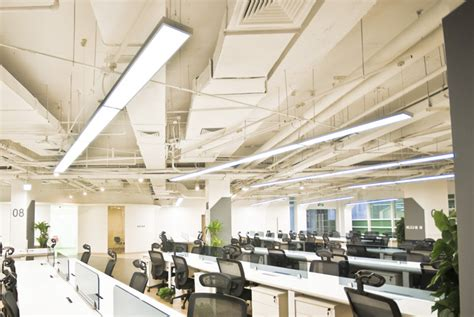 office lighting fixtures for ceiling fluorescent starting technology options affect l