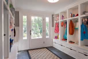 Mudroom Design by Large Mudroom Transitional Laundry Room Wright