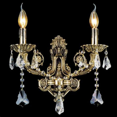 Traditional Candle Wall Sconces brizzo lighting stores 14 quot ottone traditional candle wall sconce antique brass finish 2